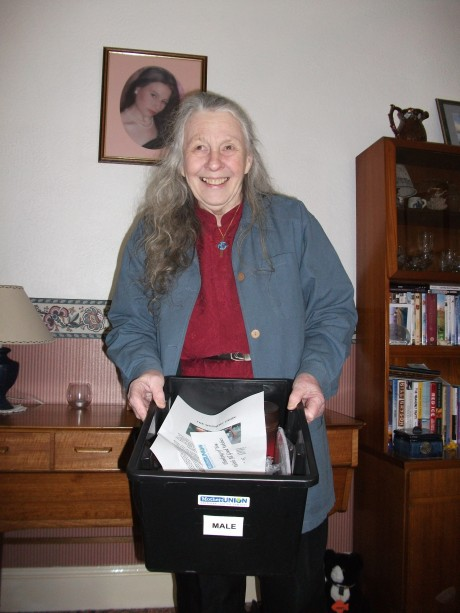 Welcome boxes : MU coordinator in Maidstone Archdeaconry