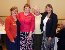 Archdeaconry Presidents for Canterbury and Maidstone with Worldwide President Lynne Tembey and Di Sabel.