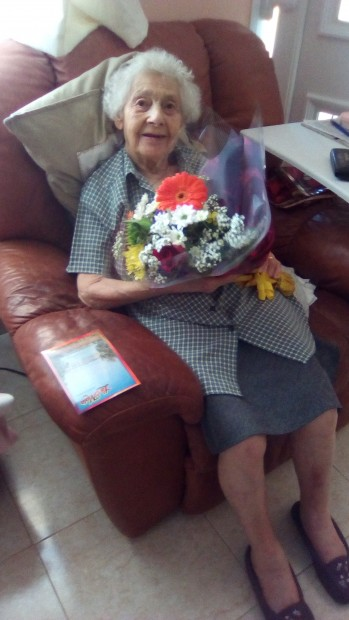 Doris Grubb's 101st Birthday